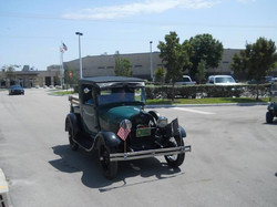 1929 Ford AA pick up closed cab