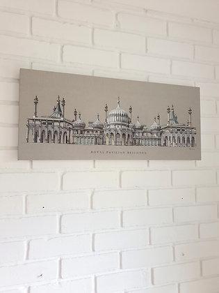 Royal Pavilion Brighton Large Wall Canvas