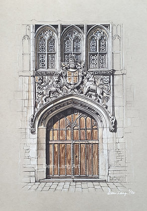 Brasenose College, Oxford Limited Edition Giclée Print