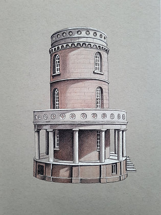 Clavell Tower Limited Edition A3 Giclée Print