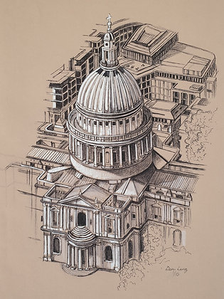 St. Paul's Cathedral, London, UK
