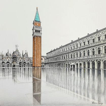 St Marks Square, Venice.