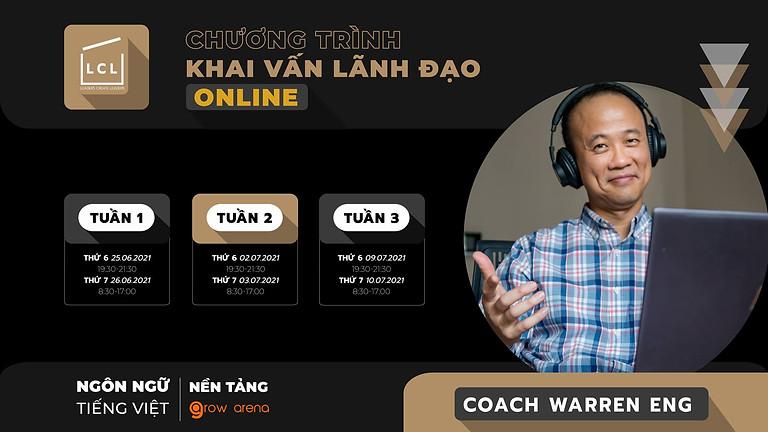 [Online] Chương trình khai vấn lãnh đạo   Khoá Tiếng Việt