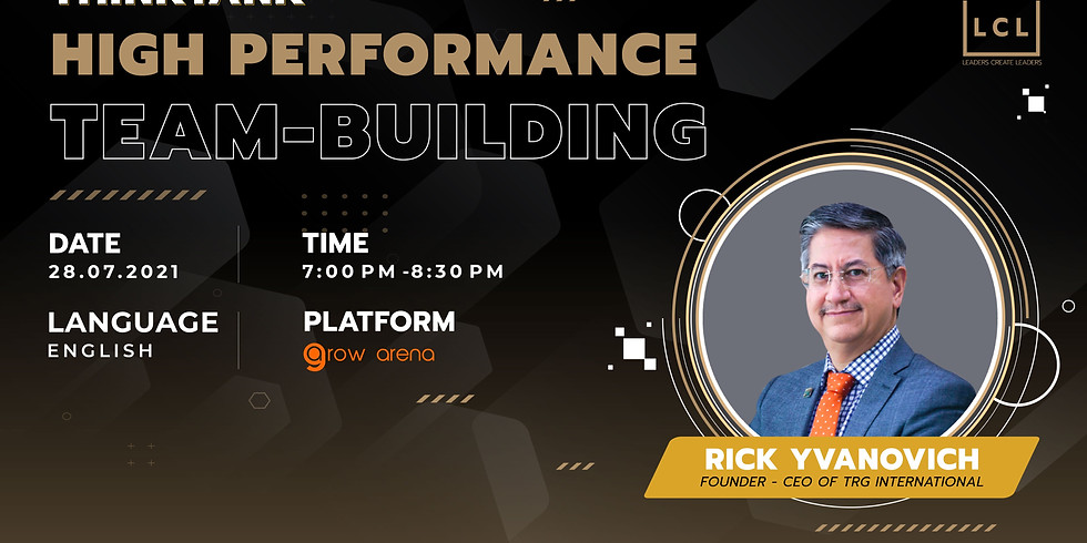 [Online] THINK TANK JULY - HIGH PERFORMANCE TEAM-BUILDING