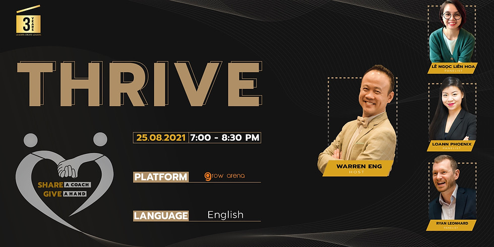 [Online] Panel Discussion: Thrive