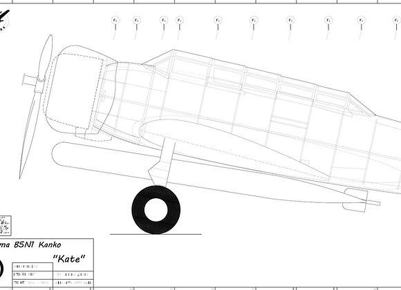 B5N1/2 set of plans (7 Sheets)