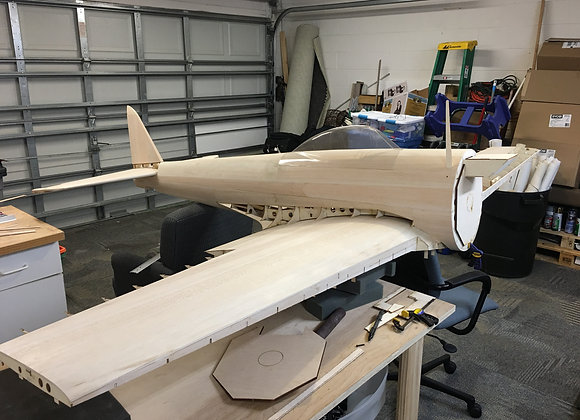 Ki-43 Wood ACK (Almost Complete Kit)
