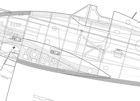 C.200 set of plans (7 sheets)