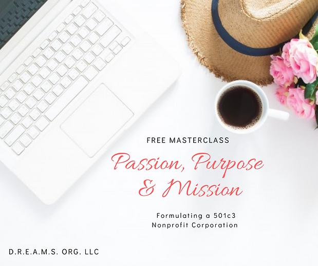 Free Masterclass_ Passion Purpose Missio
