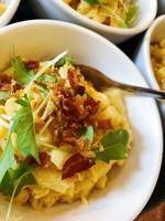 Truffle mac 'n' cheese bowl food