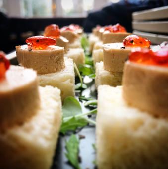 Parfait of foie gras