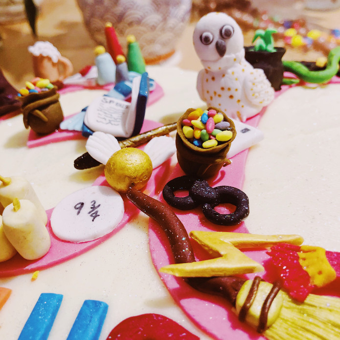 Harry potter suger craft