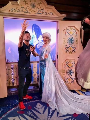 Elsa en Epcot