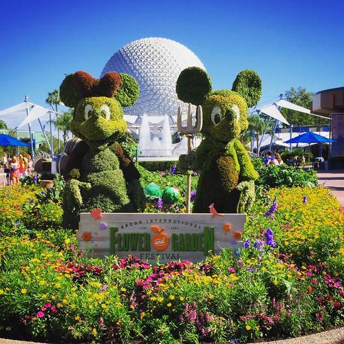 Epcot Internacional Flower & Garden Festival