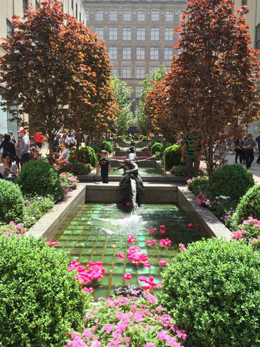 Rockefeller Center en Primavera