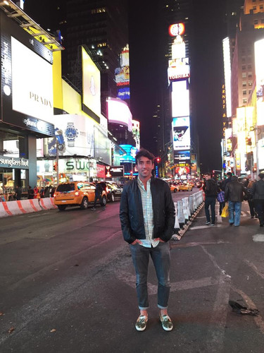 Camino a Time Square