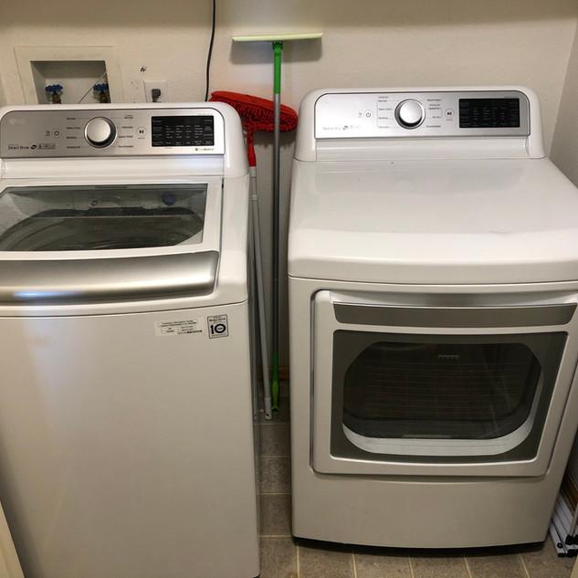 Washer + Dryer Installation