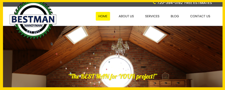 BestMan Handyman Website