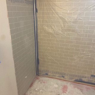 Shower Insert Installation