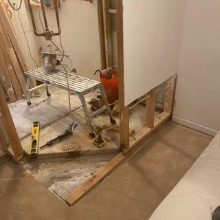 Rebuild Molded Shower