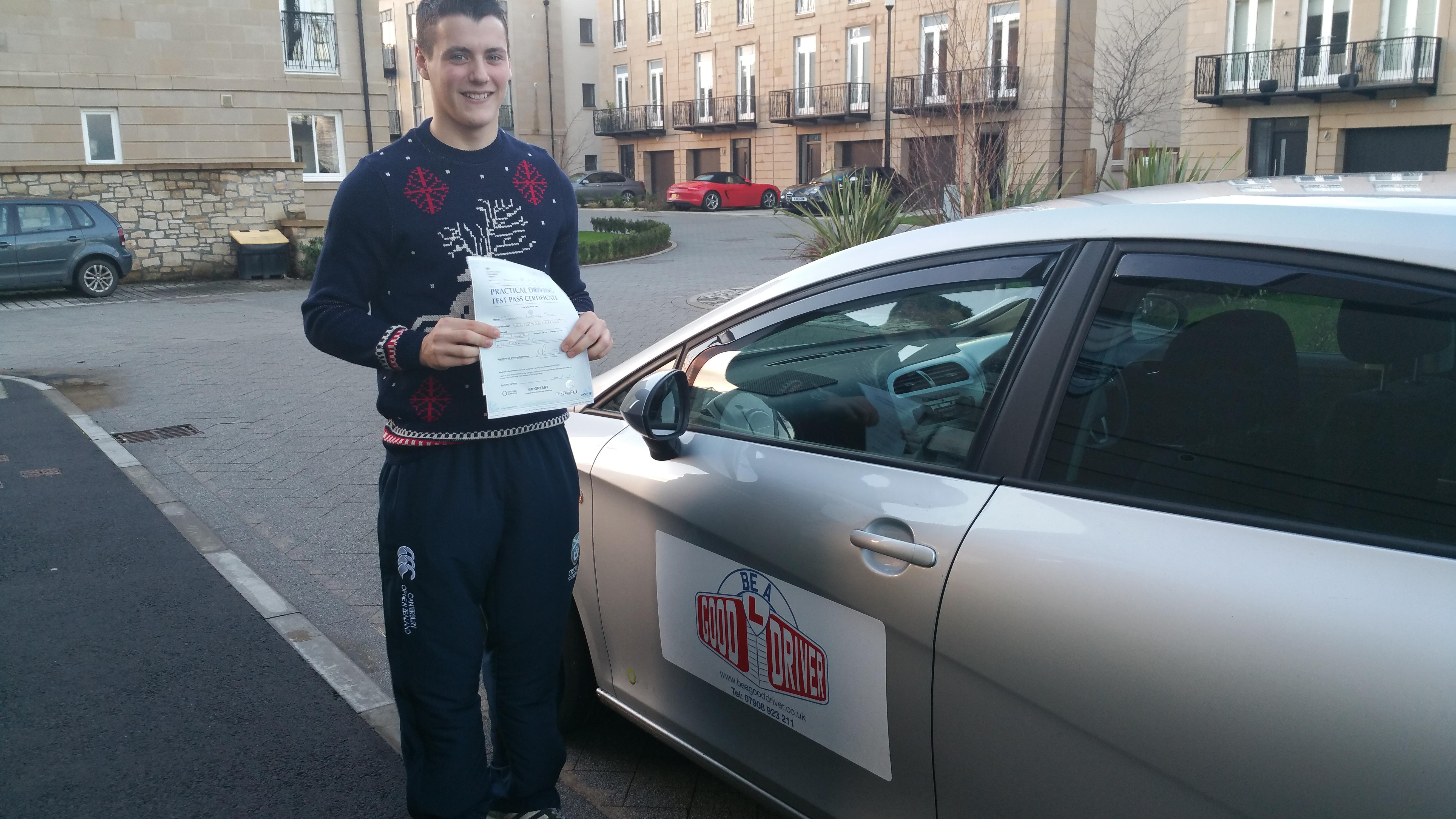 driving good pass rate Edinburgh