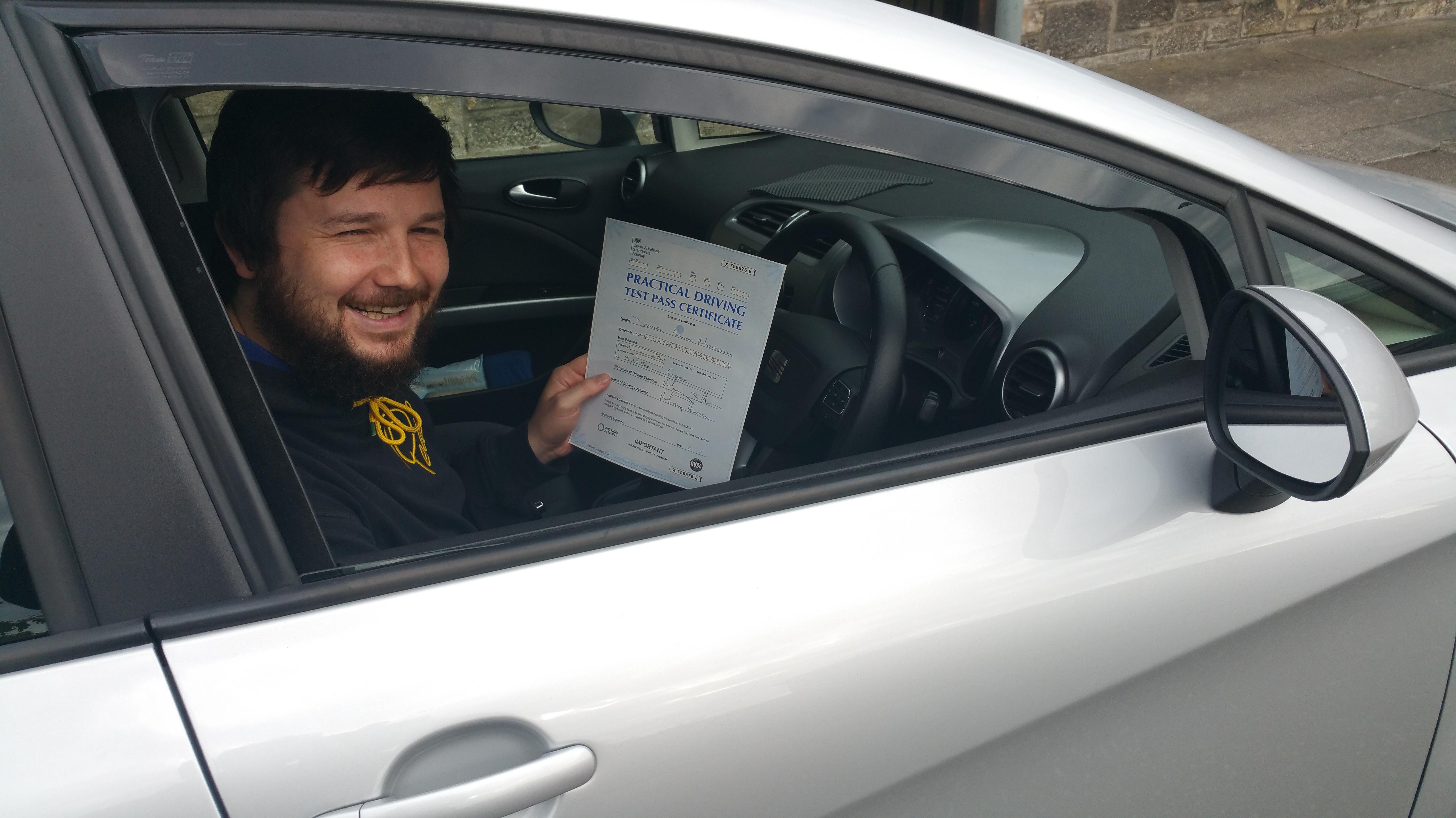driving test passed in edinburgh