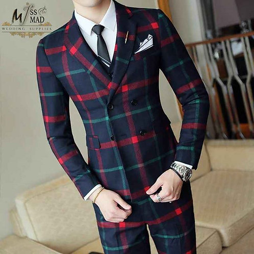 Wedding slim suit