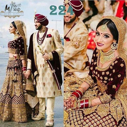 Combo ethnic wedding dresses