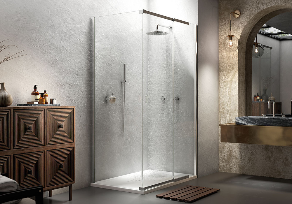 Shower enclosures and wet rooms for bathrooms