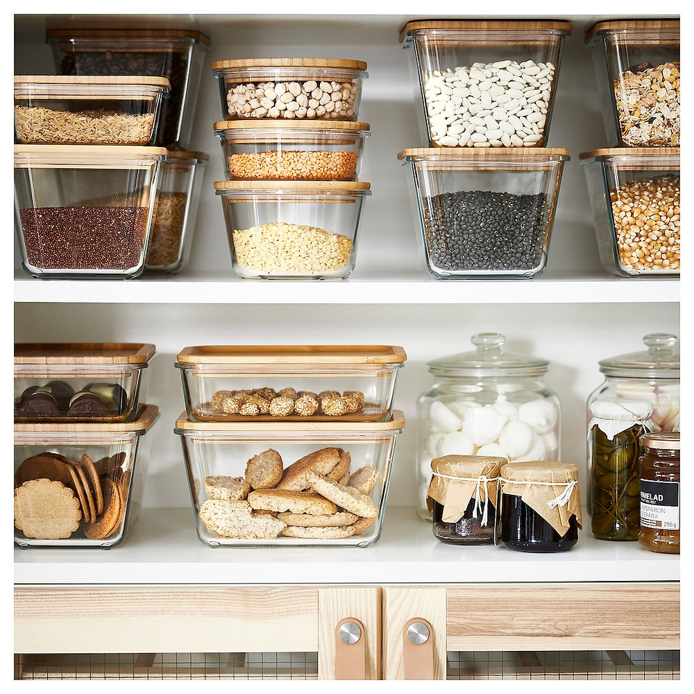 Ikea sustainable storage for kitchens