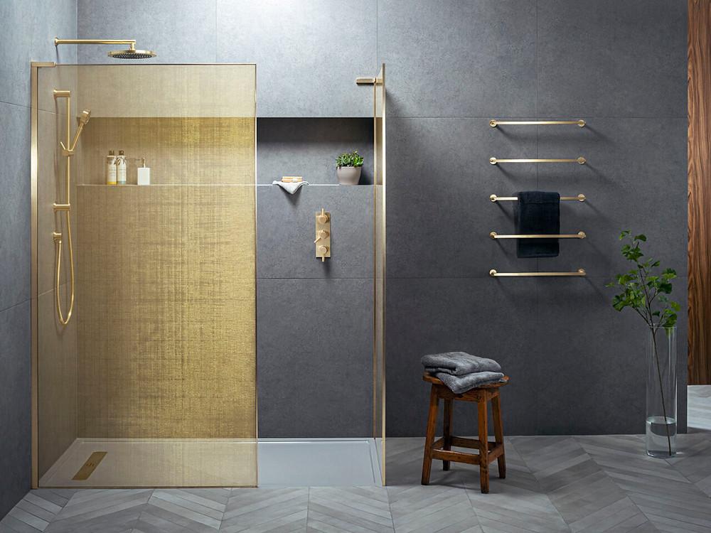 Matki UK made shower screens for bathrooms.