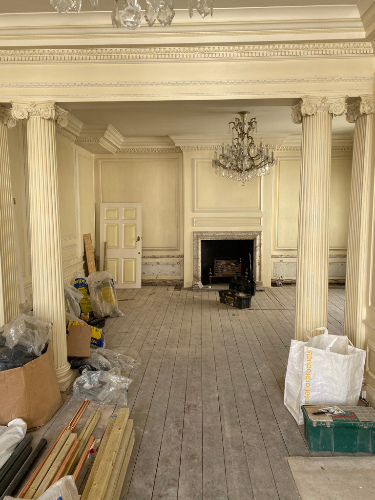 Planning permission and removal of architectural elements