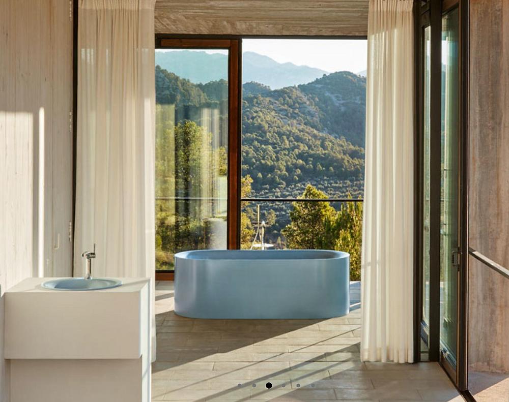 Bette Lux bath for an interior designed bathroom