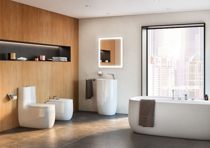 Sustainable and healthy bathroom design