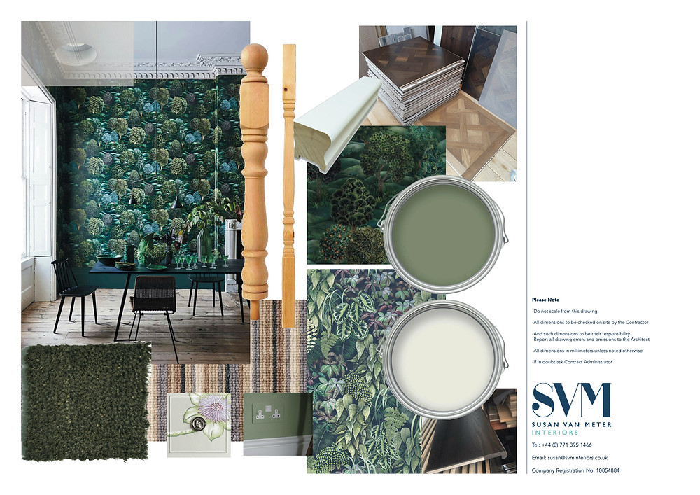 Interior designed home using Biophilic principles.