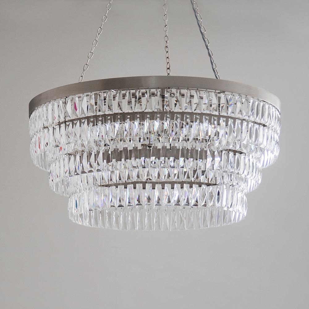 Bathroom chandelier with a waterproof rating
