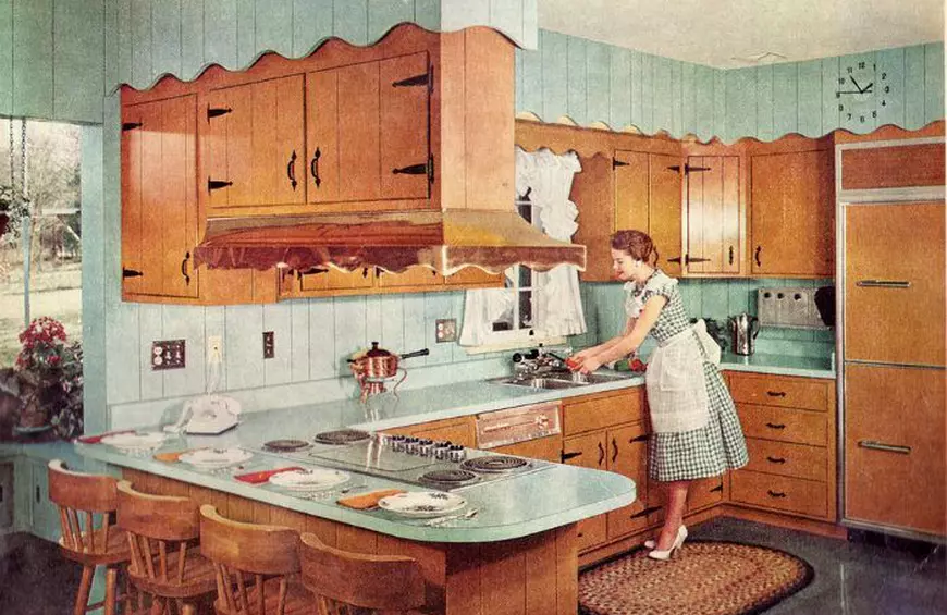 1950's kitchen.