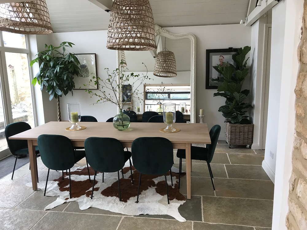 Biophilic interior design in the home