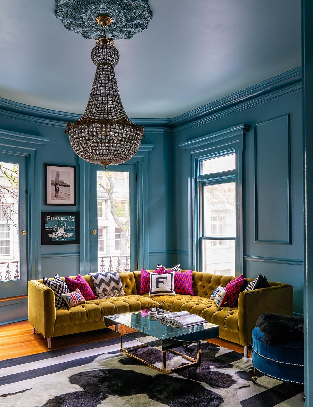 Interior designer paints in london