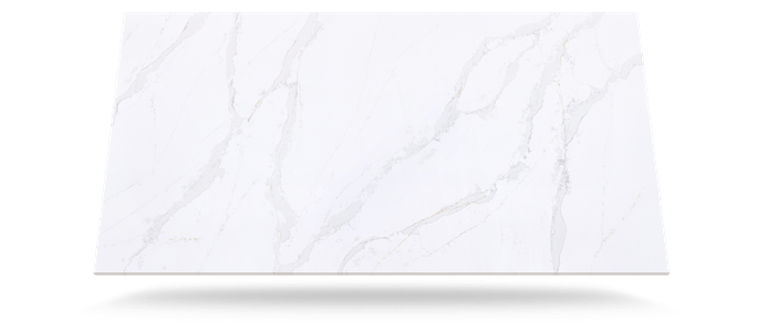 Calacatta Quartz slab used in bathrooms
