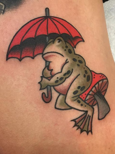 🐸 Thank you!! ❤️ Done at @goodoldtimest