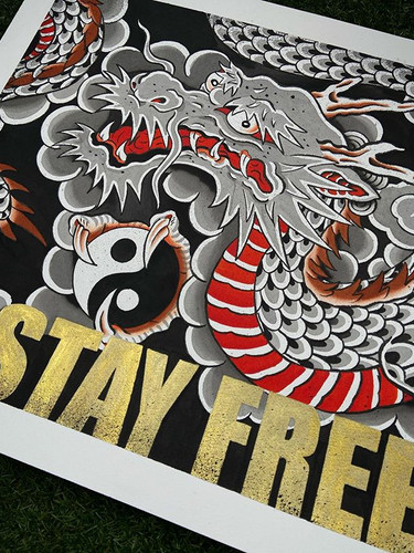 Go easy, Step lightly, Stay Free!! Worki