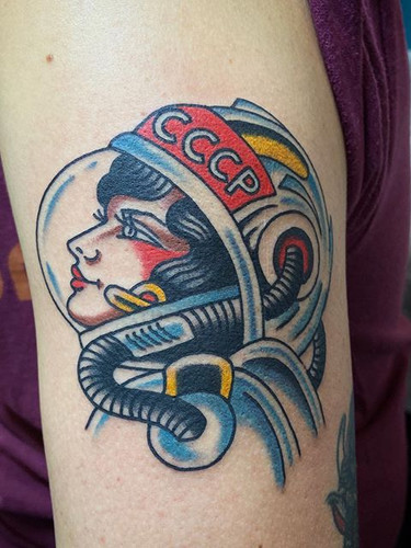 Another soviet astronaut I did two weeks