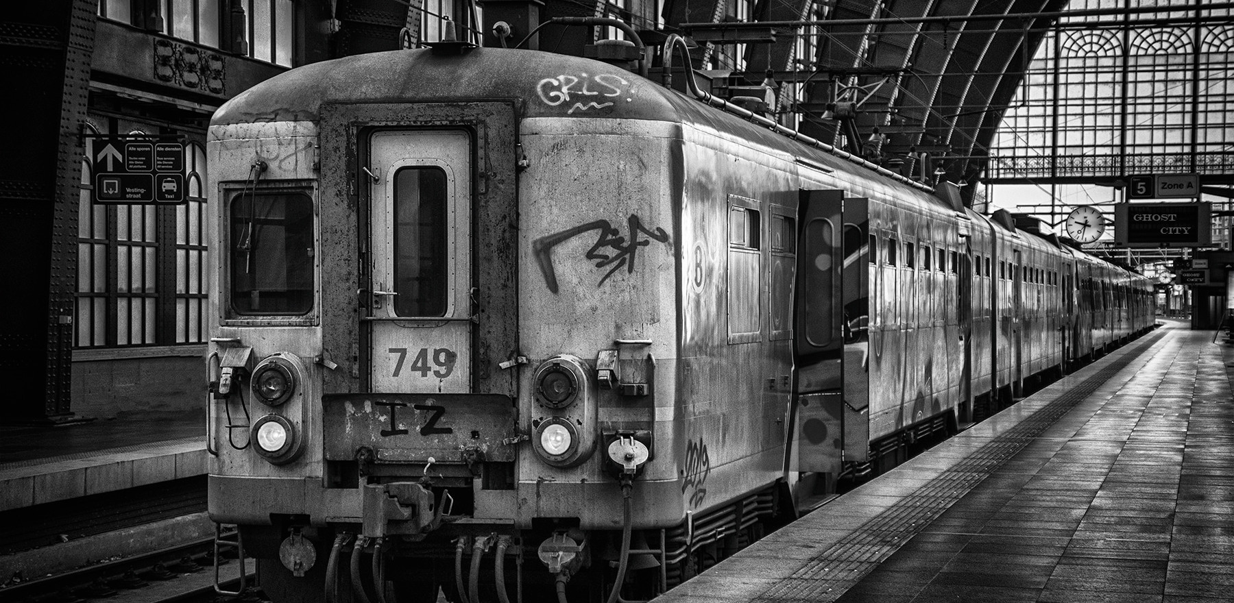Ghost train to Ghost city