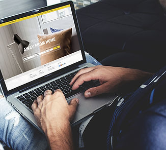 Strona internetowa Mockup