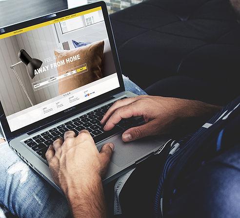 Mockup เว็บไซต์