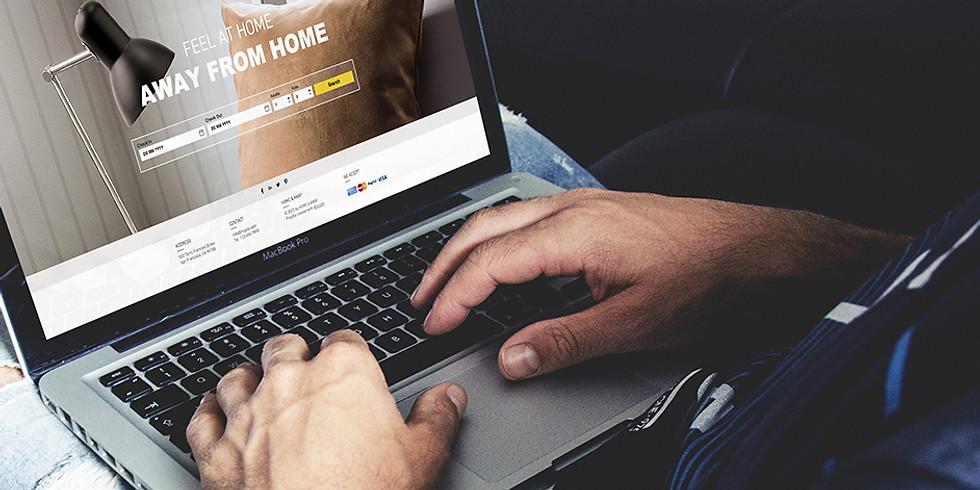 TALLER - Crea tu sitio web en 8 horas con plantilla de Wix