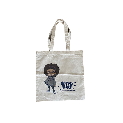 Witty Kids Tote Bag