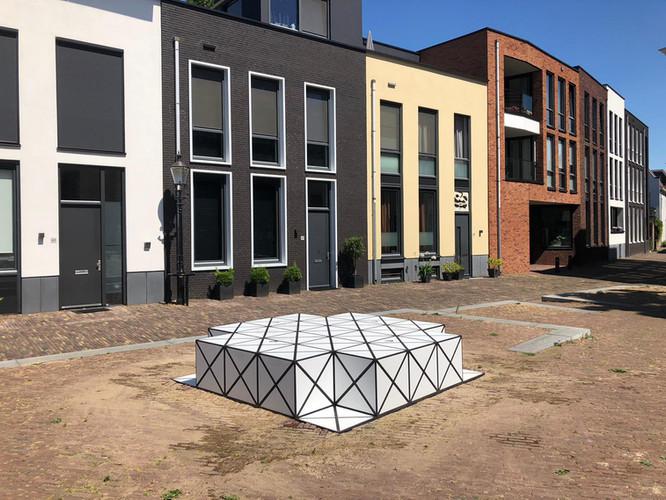 Squares door AamSolleveld in opdracht van de bewoners en de gemeente Deventer