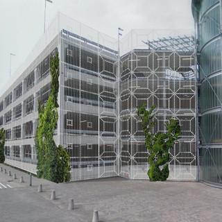 Ontwerp voor de garage van het Westfriesgasthuis in Hoorn, Transparante patronen verbeteren de veiligheid en de beleving van de garage